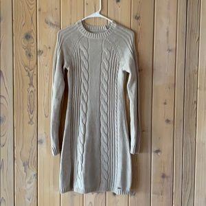 Hollister Sweater Dress •Cream• NWT• Size M